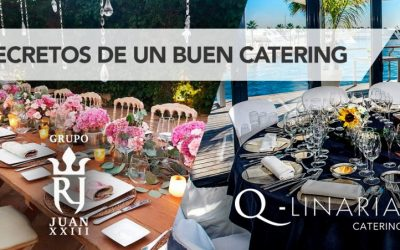 Los secretos de un buen catering