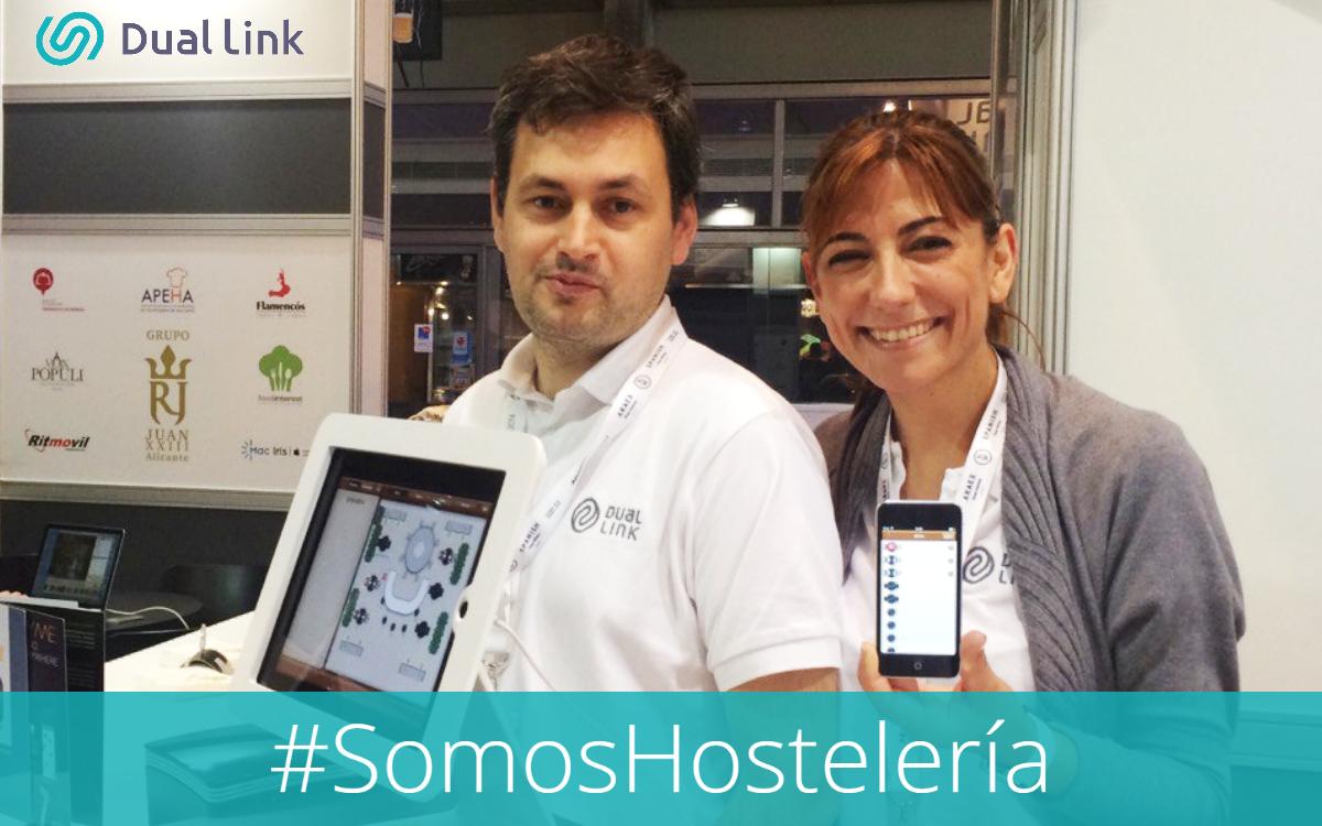 Dual-Link: #Somoshosteleria Javier Segura Itziar López