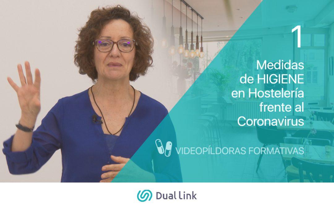 Medidas de Higiene en Hostelería frente al coronavirus Dual Link Perfecto Anfitrión