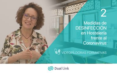 Medidas de DESINFECCIÓN en Hostelería frente al Coronavirus