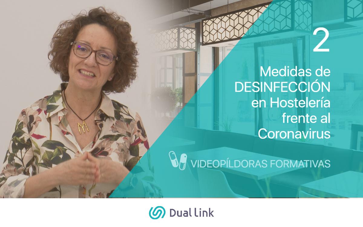 Medidas de Desinfección en Hostelería frente al Coronavirus Dual Link Perfecto Anfitrión