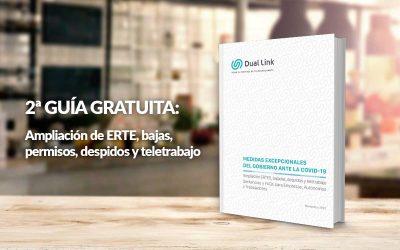 2ª Guía Gratuita: Ampliación de ERTE, bajas, permisos, despidos y teletrabajo.